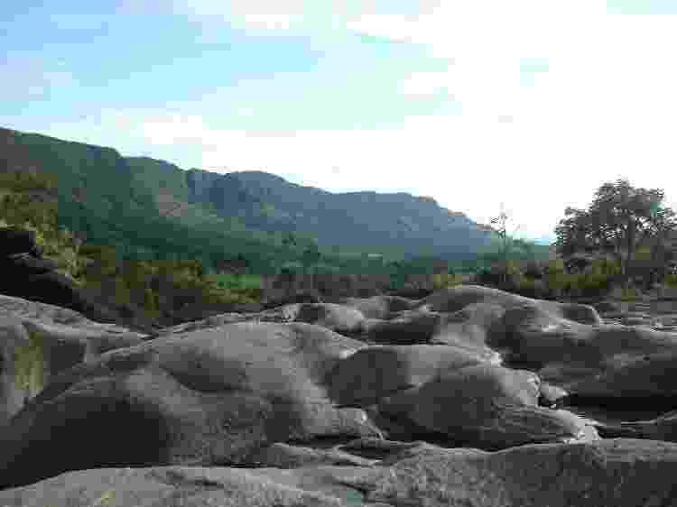 Vale da Lua, em Alto Paraíso de Goiás, na Chapada dos Veadeiros - Getty Images/iStockphoto - Getty Images/iStockphoto
