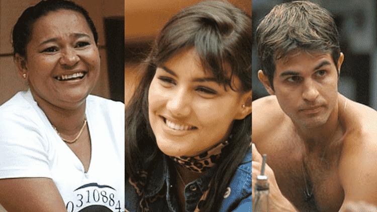 Mara, Mariana Felício e Rafael no BBB 6 - Reprodução/TV Globo - Reprodução/TV Globo
