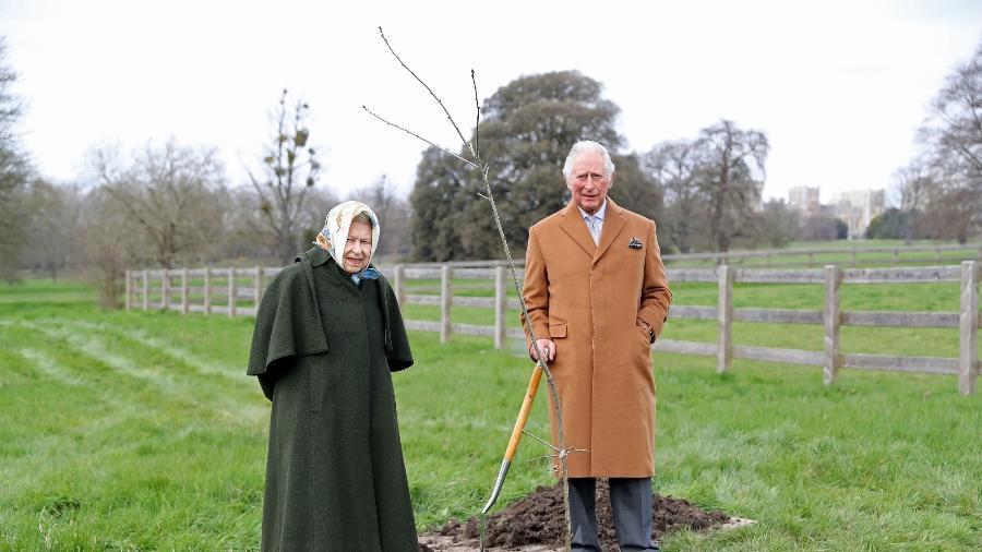 Rainha Elizabeth 2ª e príncipe Charles lançam iniciativa para os 70 anos de reinado - Getty Images