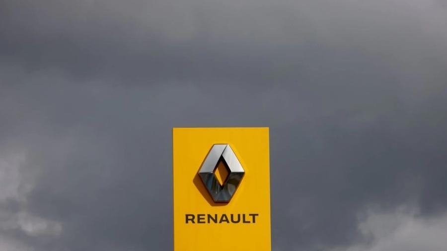 Logo Renault - REUTERS/Stephane Mahe