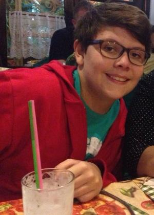 Lucas Vandarte Magarotto não gosta de falar com os pais sobre relacionamentos - Arquivo pessoal