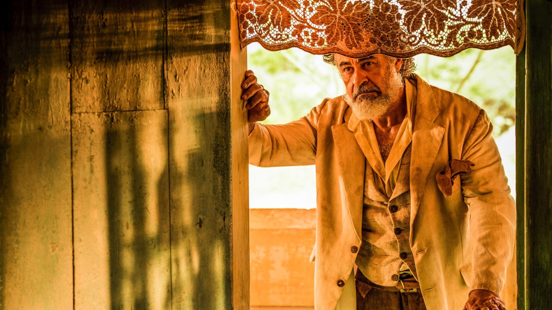 O ator Carlos Betão, que interpretará o personagem Aracaçu em