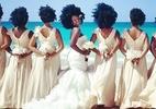 Noiva e madrinhas ostentam black power em foto de casamento e viram hit - Reprodução/Instagram/@naturally_nakyia