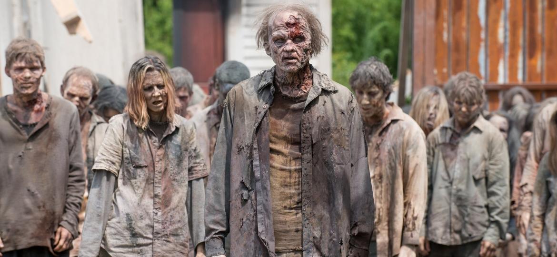 """Cena da série """"The Walking Dead"""" - Reprodução"""