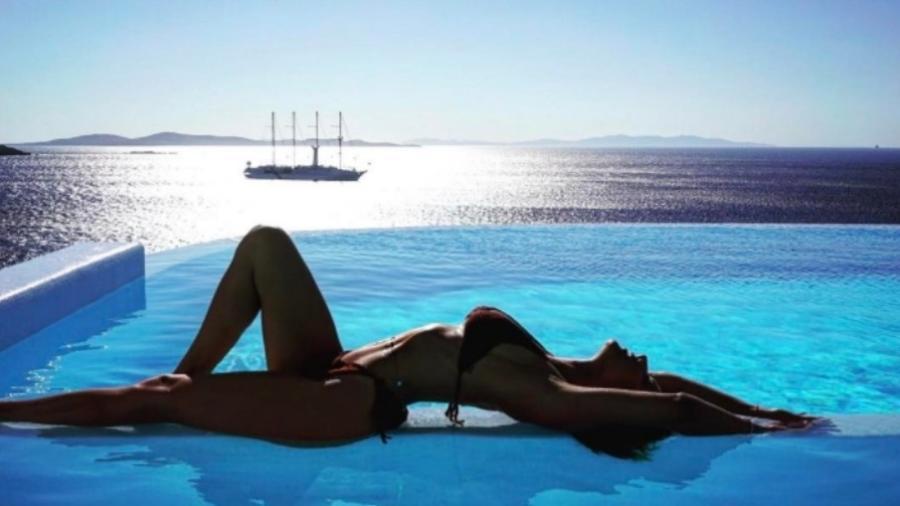 Giovanna Ewbank em foto tirada pelo marido, Bruno Gagliasso - Reprodução/Instagram/brunogagliasso