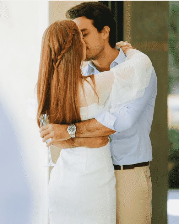 Marina Ruy Barbosa e Xandinho Negrão trocam beijos no casamento - Reprodução/Instagram/marinaruybarbosa