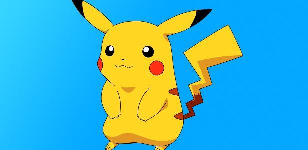 Um dos pokémons mais queridos, o Pikachu