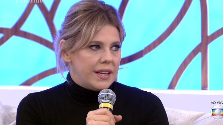 """Bárbara Paz no """"Encontro com Fátima"""" - Reprodução/Globo"""