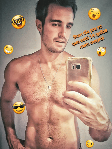 Max Fercondini mostra corpo mais magro - Reprodução/Instagram/maxfercondini