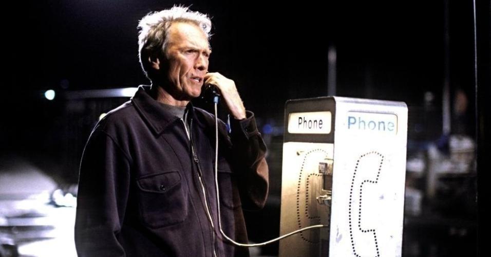 "Clint Eastwood em cena em ""Dívida de Sangue"" (2002)"