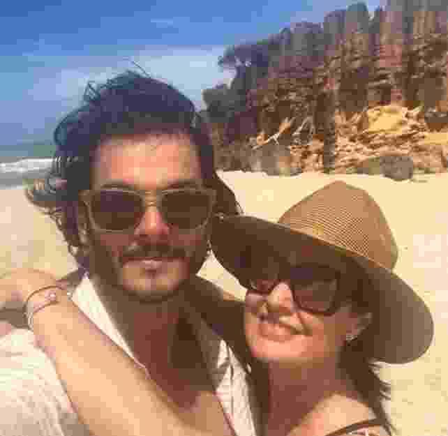Fátima Bernardes e o namorado, Túlio Gadelha - Reprodução/Instagram