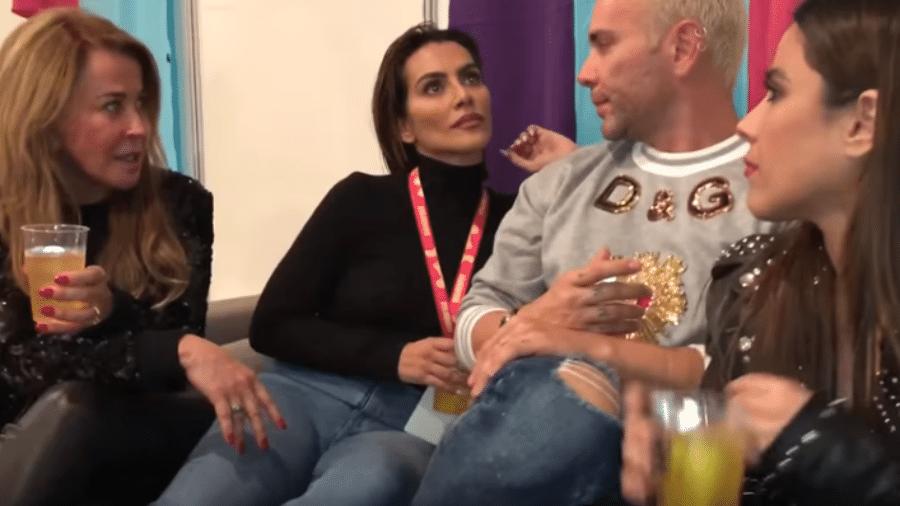 """Zilu, Cleo Pires, Matheus Mazzafera e Wanessa brincam de """"Eu Nunca"""" - Reprodução/YouTube"""