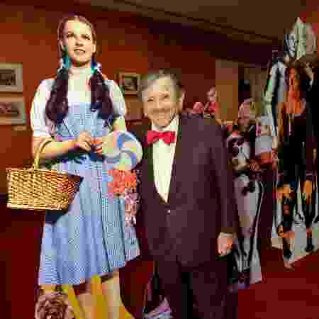 "Jerry Maren, um dos munchkins de ""O Mágico de Oz"" - Getty Images/Charley Gallay - Getty Images/Charley Gallay"