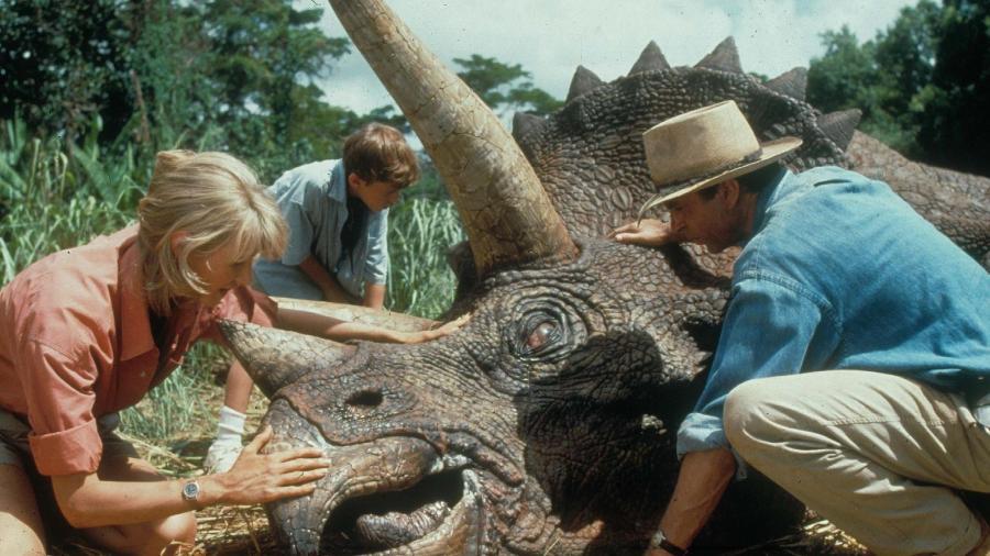"""""""O Parque dos Dinossauros"""": Trio original pode aparecer em """"Jurassic World 3"""""""
