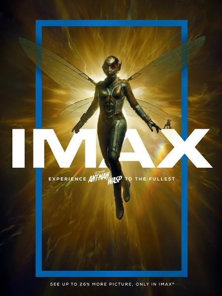 Pôster do IMAX mostra Vespa em destaque - Reprodução