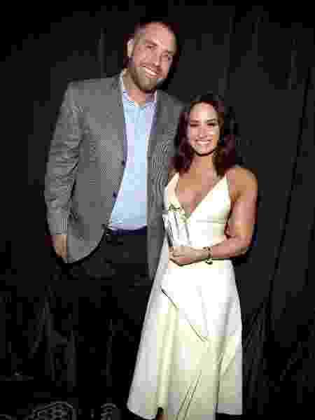 Mike Bayer e Demi Lovato - Alberto E. Rodriguez/Getty Images - Alberto E. Rodriguez/Getty Images