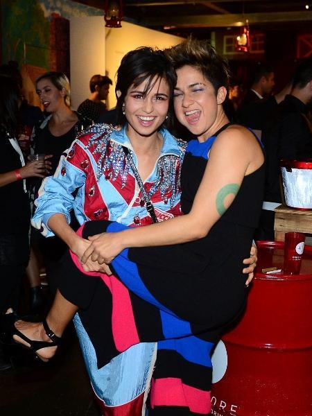 """Nanda Costa e Lan Lanh se divertiram em evento da revista """"Marie Claire"""" - Francisco Cepeda/AgNews"""