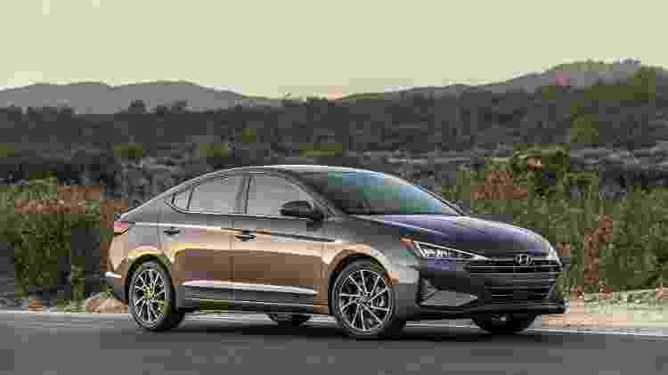 Hyundai Elantra - Divulgação - Divulgação