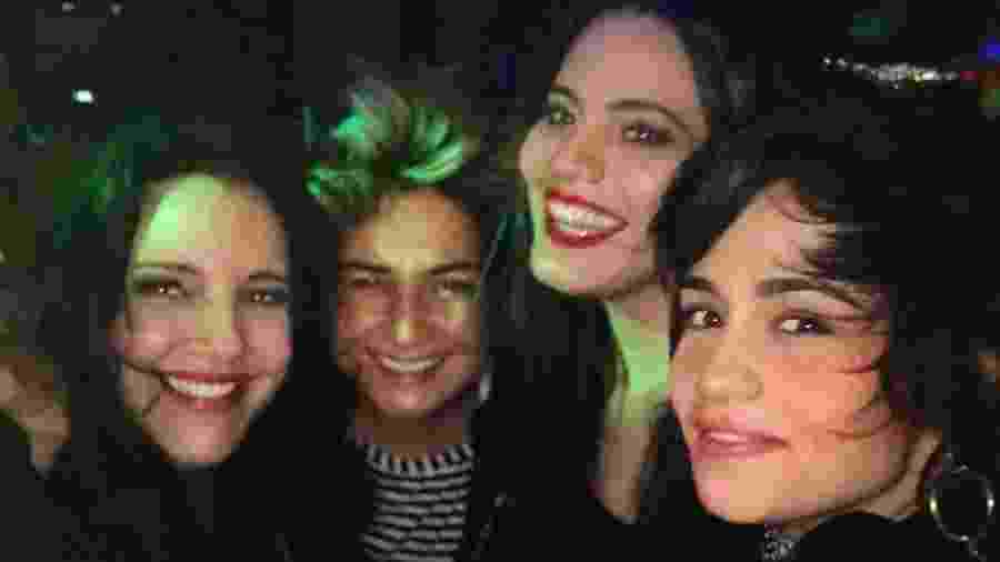 Ana Carolina posa com Lan Lanh, Letícia Lima e Nanda Costa - Reprodução/Instagram/sigaanacarolina