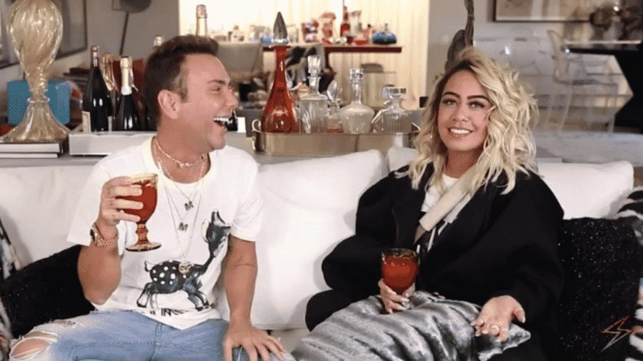 Rafaella Santos, irmã de Neymar, é entrevistada por Matheus Mazzafera - Reprodução/Instagram