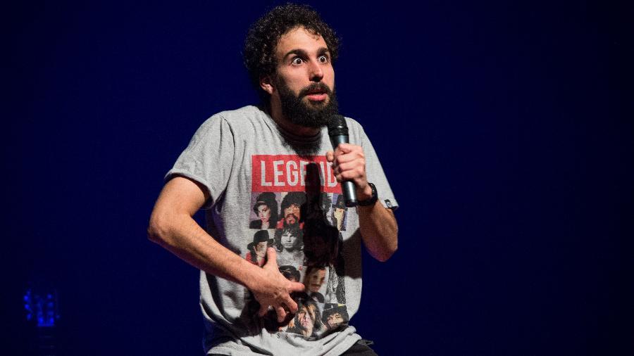 Murilo Couto se apresenta em espetáculo de stand-up comedy - Willian Abreu