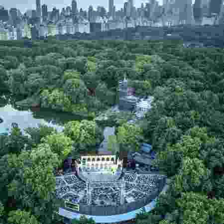 Peça de Shakespeare no Central Park - Reprodução/Facebook
