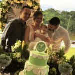 Batizado de Samuel, filho de Gusttavo Lima e Andressa Suíta - Reprodução/Instagram