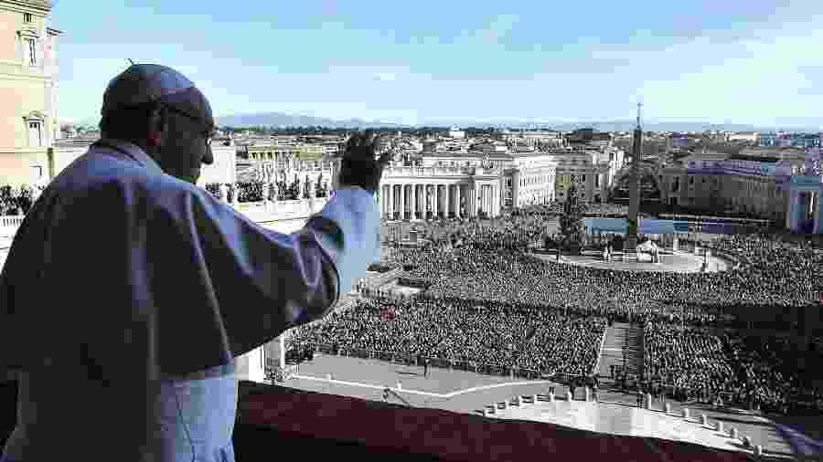 Papa Francisco durante o discurso de Natal no Vaticano - Reprodução/Instagram/franciscus