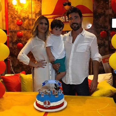 Sandro Pedroso e Jéssica Costa comemoram aniversário de Noah - Reprodução/Instagram