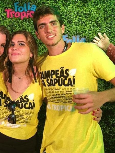 Maria, filha de Cláudia Abreu, e João, filho de Malu Mader - Reprodução/Instagram