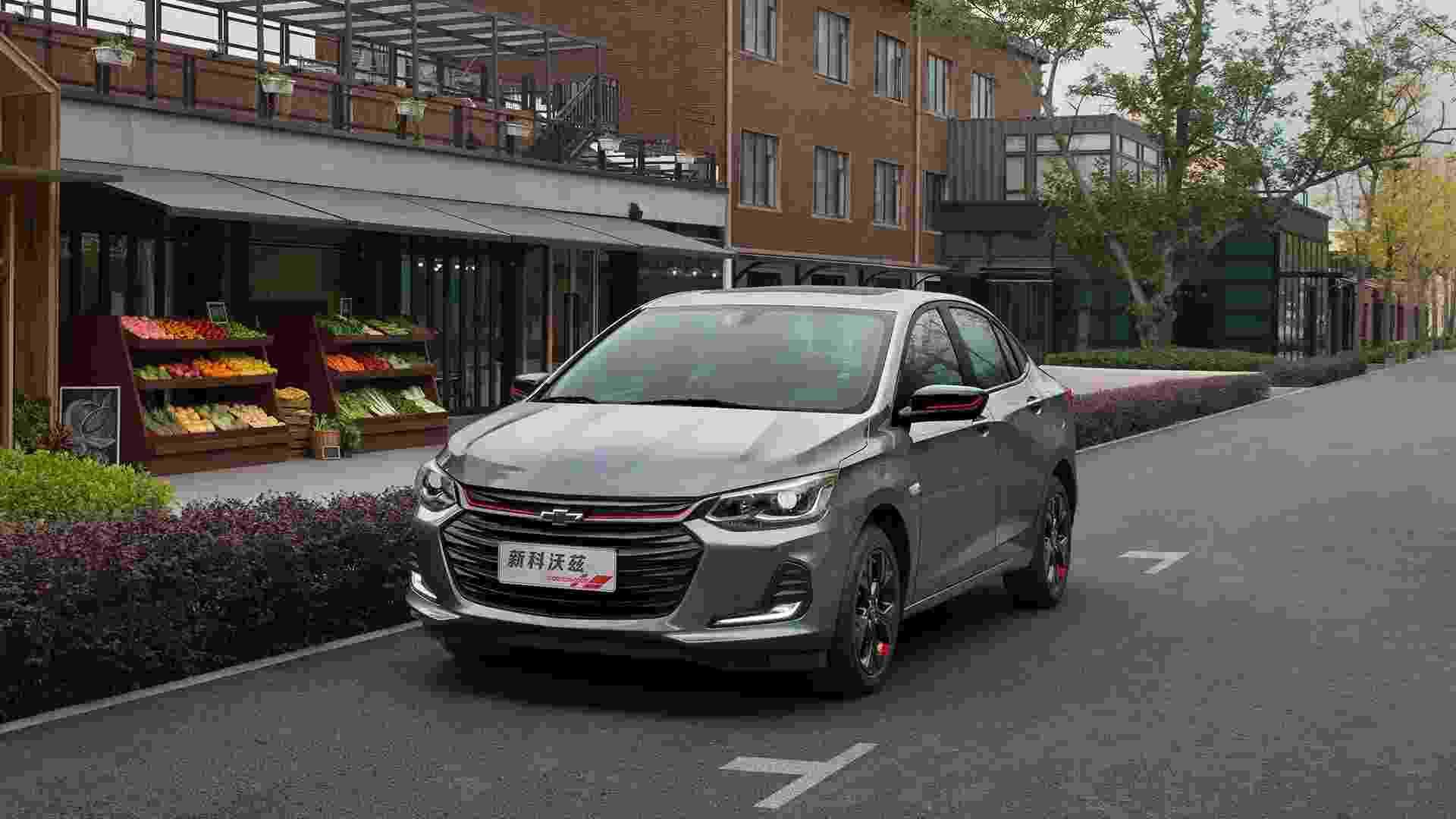Chevrolet Onix Sedan Redline 2020 - Divulgação
