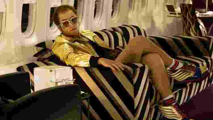 """Taron Egerton como Elton John, em """"Rocketman"""" - Divulgação - Divulgação"""