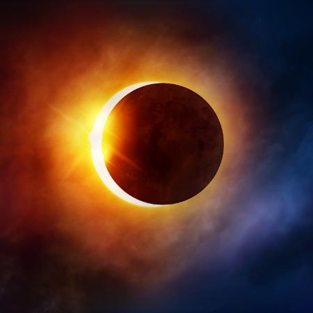 Eclipse solar de hoje traz mudanças  - Getty Images
