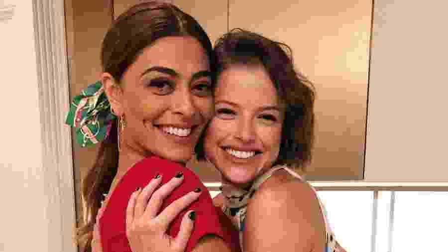 """Juliana Paes e Agatha Moreira em """"A Donas do Pedaço"""", novela que também não foge dos velhos clichês - Reprodução/Instagram"""