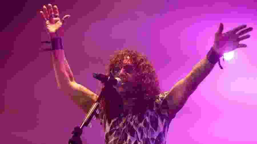 Luiz Caldas se apresenta no Festival Spanta, no Rio - Luciola Villela/UOL
