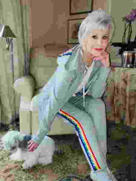 A atriz Jane Fonda, de 82 anos - Reprodução/Instagram