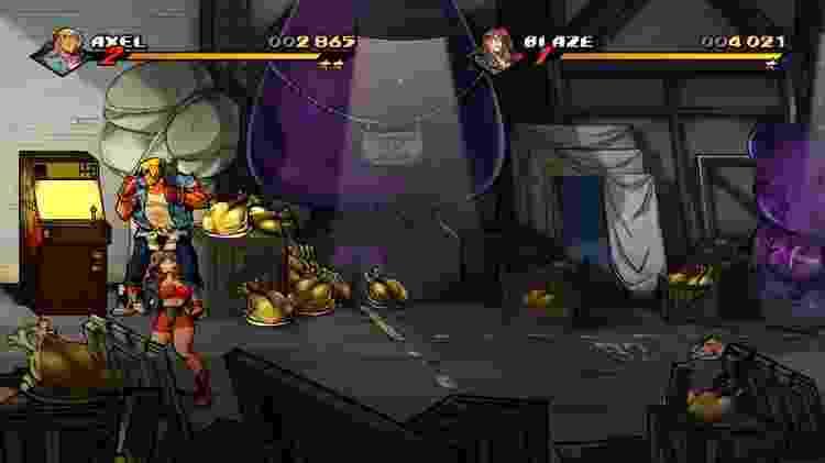 Streets of Rage 4 Artigo 7 - Reprodução - Reprodução