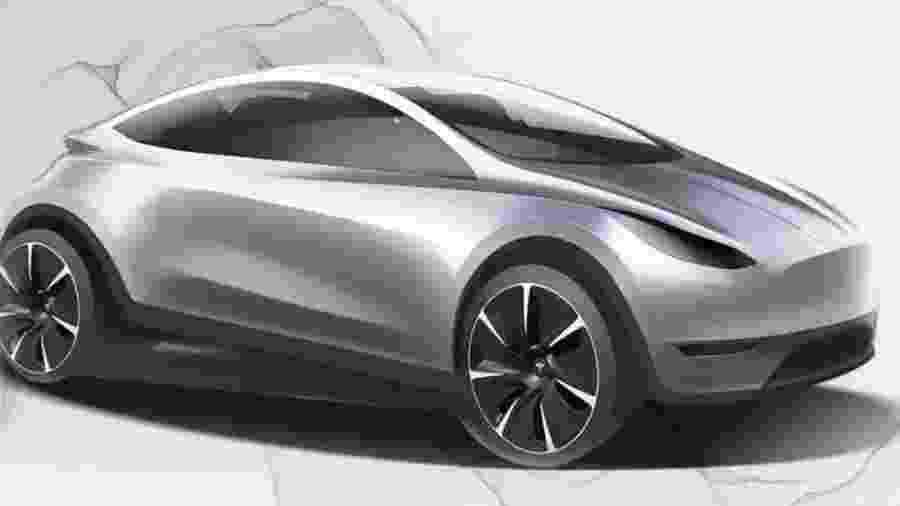 Projeto de futuro compacto da Tesla na China - Divulgação