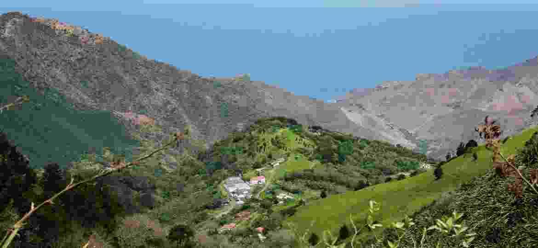 Vista da ilha de Santa Helena - Getty Images
