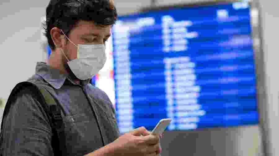 Desde o início da pandemia, em março, a entrada de estrangeiros no Brasil estava restrita - Getty Images/iStockphoto