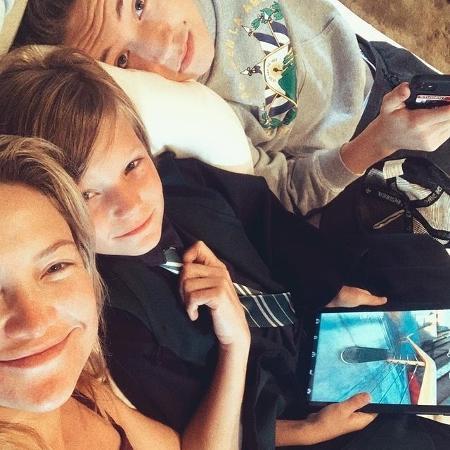Kate Hudson comenta sobre a criação dos filhos - Reprodução / Instagram