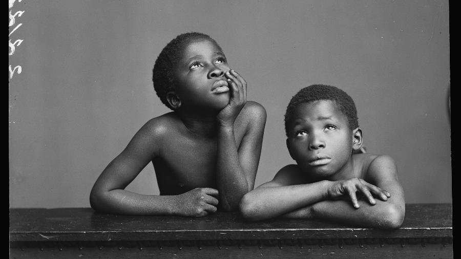 Foto do acervo da Getty Images que será doada para fomentar a valorização de narrativas negras - London Stereoscopic Company/Hulton Archive/Getty Images