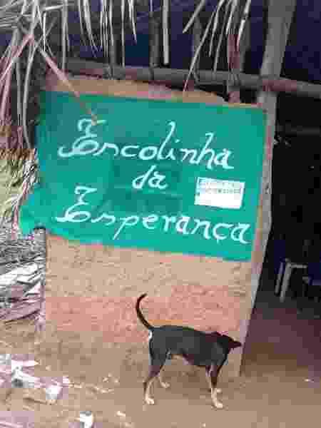 A Escolinha da Esperança criada por Érica, de 12 anos, em Coelho Neto (MA) - Arquivo Pessoal - Arquivo Pessoal