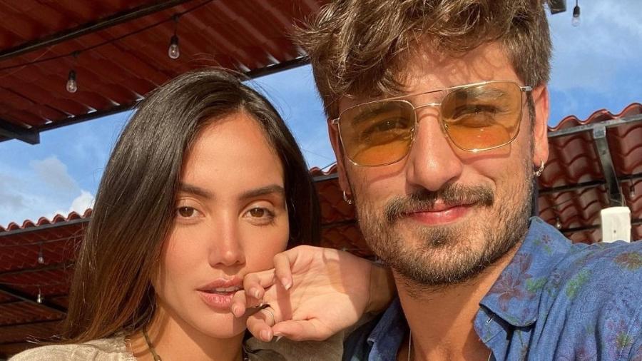 Daniel Rocha e a namorada, a modelo Mariana Nunes - Reprodução/Instagram