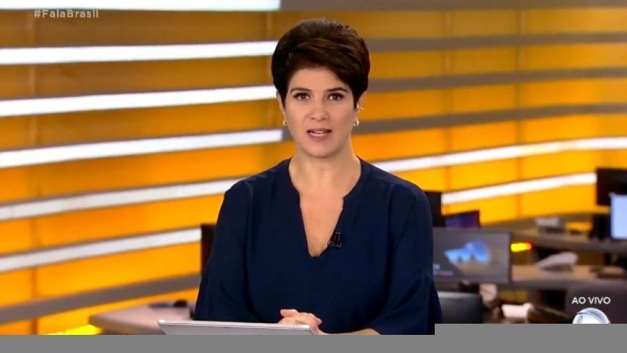 Mariana Godoy foi advertida a não expressar mais opiniões sobre notícias  - Reprodução/Twitter