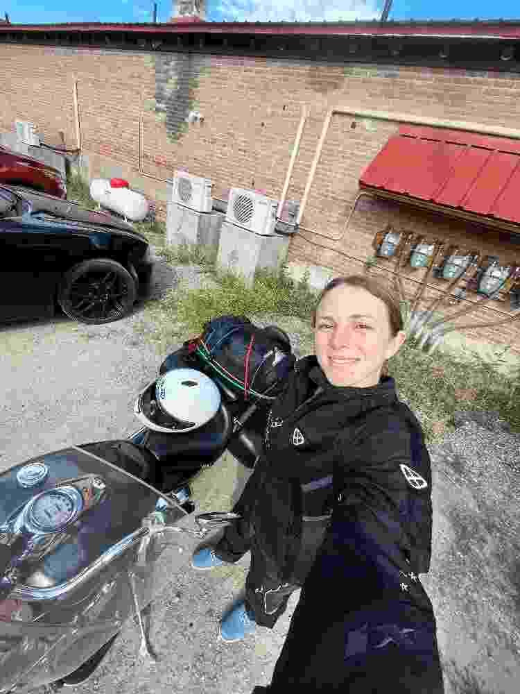 Momento selfie: viajar sozinha fez parte da descoberta de sua força - Arquivo pessoal - Arquivo pessoal