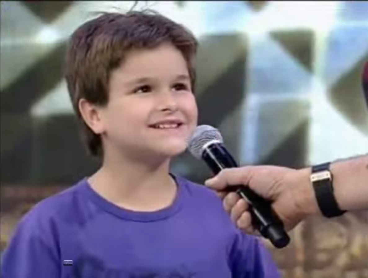 Filho de André Gonçalves alfineta Faustão