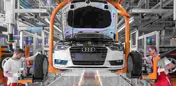 Audi A3 1.4 TSI nacional será flex e terá 150 cv; atual modelo, húngaro, produz 122 cv - Divulgação