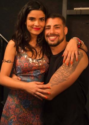 Tóia (Vanessa Giácomo) e Juliano (Cauã Reymond) - Divulgação/TV Globo