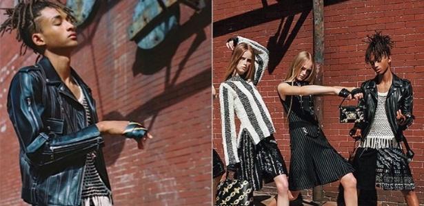 Jaden Smith na campanha primavera-verão da Louis Vuitton - Reprodução/Instagram
